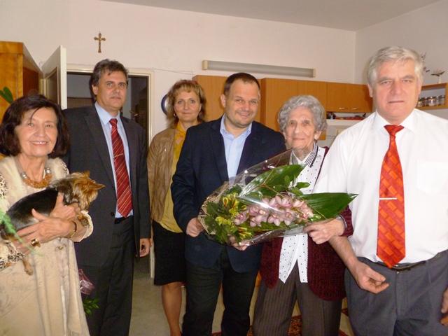 Je hezký pocit mít sto let, říká paní Anastázie Havlíčková