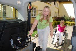 Město přispělo na nákup vozidla pro handicapované