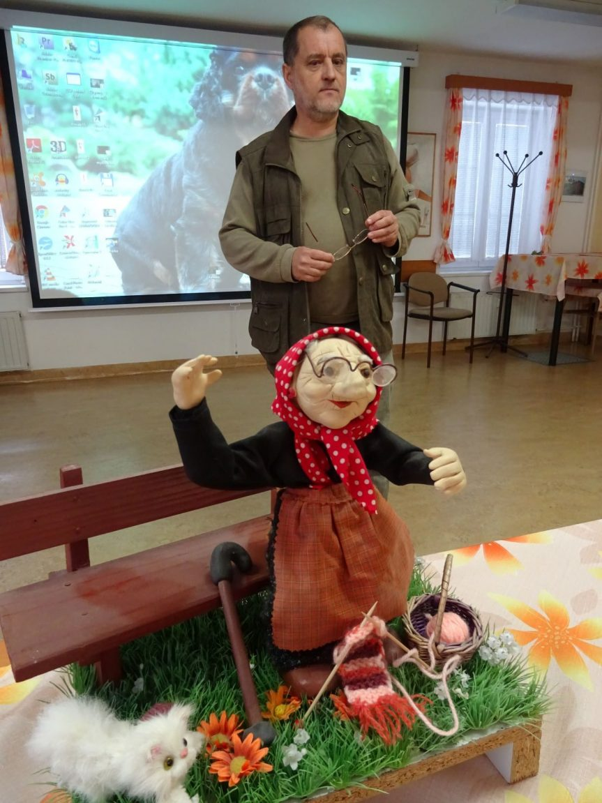 Jak se dělá animovaný film přednáší MUDr. Novák