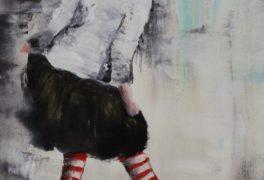 Malování s paní Laštovičkovou
