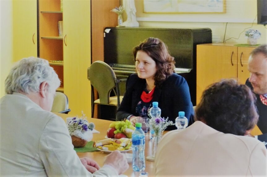 Návštěva ministryně práce a sociálních věcí Jany Maláčové